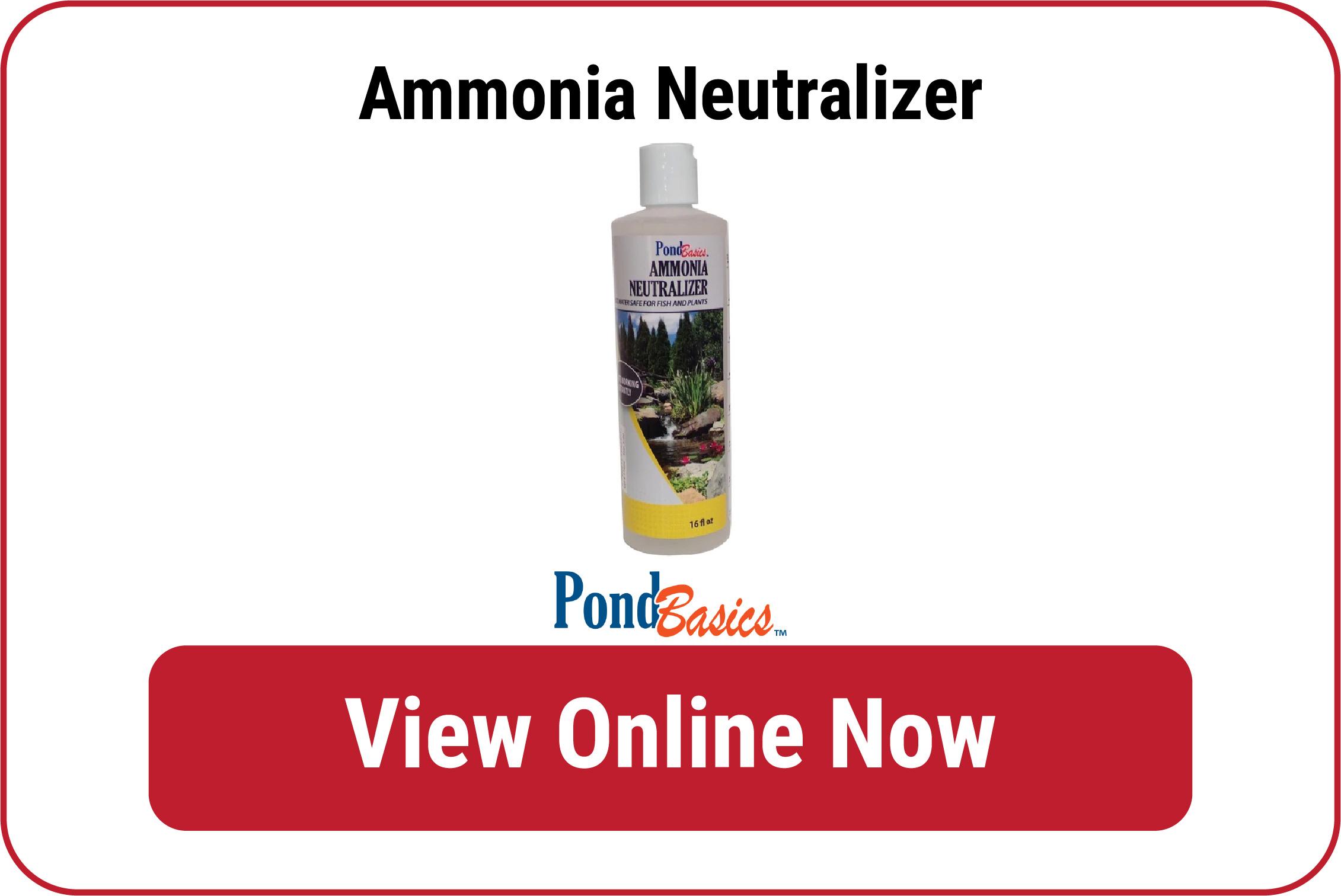 Ammonia Neutralizer   Pond Water Additives