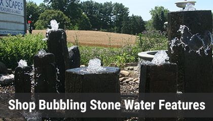 View and Shop Bubbling Stone Water Features Online