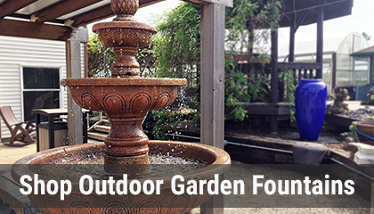 View and Shop Outdoor Garden Fountains Online