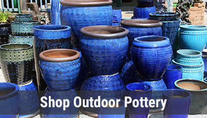 View and Shop Outdoor Pottery Online